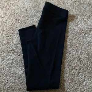 American Eagle Black Cotton Leggings